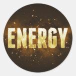 Energy Sticker