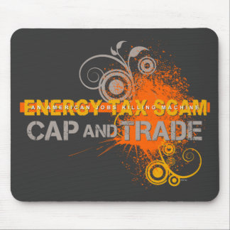 Energy Tax Scam Mouse Pad