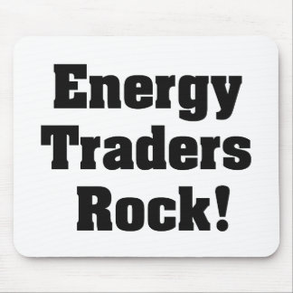 Energy Traders Rock! Mouse Pad