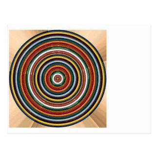 Energy Wheel Chakra TEMPLATE add TEXT IMG customiz Postcard