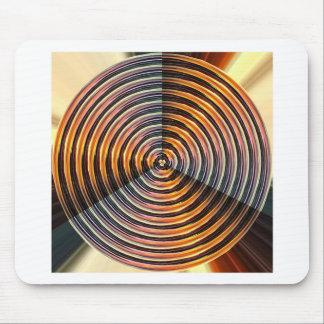 ENERGY Wheel : Golden Metal Look Mouse Pad