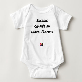 ENERGY WHICH BEEN ON FIRE WITH the LANCE-FLEMME - Baby Bodysuit