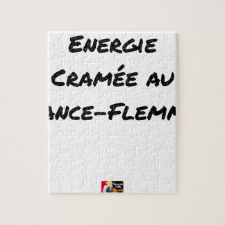 ENERGY WHICH BEEN ON FIRE WITH the LANCE-FLEMME - Jigsaw Puzzle
