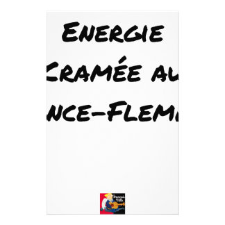 ENERGY WHICH BEEN ON FIRE WITH the LANCE-FLEMME - Stationery