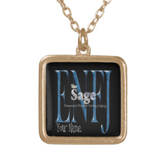 ENFJ theSage Gold Plated Necklace