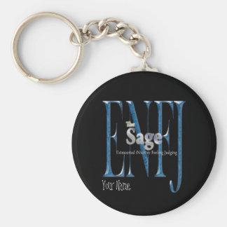 ENFJ theSage Key Ring