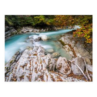 Eng valley in Karwendel range Postcard