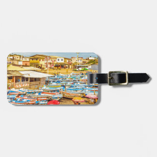 Engabao Beach at Guayas District Ecuador Luggage Tag