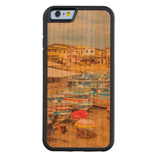 Engabao Beach Guayas Province Ecuador Carved Cherry iPhone 6 Bumper Case