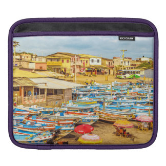 Engabao Beach Guayas Province Ecuador iPad Sleeve