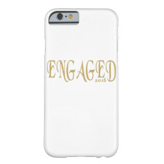 Engaged 2018 barely there iPhone 6 case