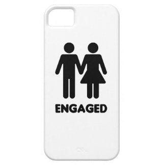 Engaged Couple iPhone 5 Covers