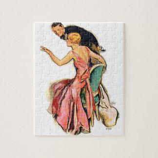 Engaged Couple Jigsaw Puzzle