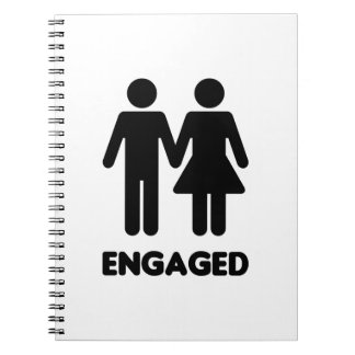 Engaged Couple Note Book