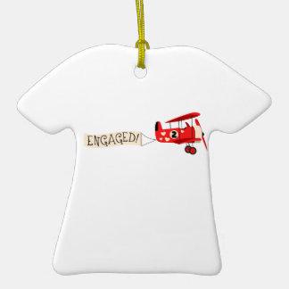 Engaged! Ceramic T-Shirt Decoration