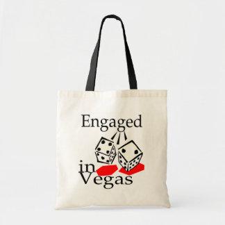 Engaged In Vegas Budget Tote Bag