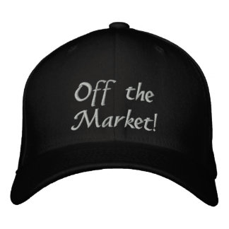 Engaged! Off the Market! Embroidered Hat