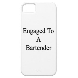 Engaged To A Bartender iPhone 5 Cover