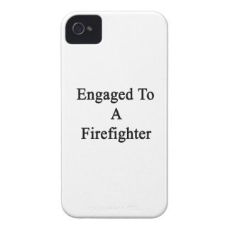 Engaged To A Firefighter Case-Mate iPhone 4 Cases