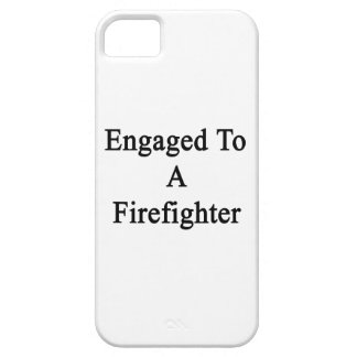 Engaged To A Firefighter iPhone 5 Case