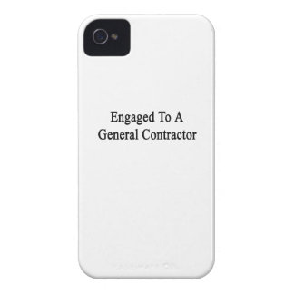 Engaged To A General Contractor iPhone 4 Case-Mate Case