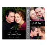 Engagement Collage Save The Date Announcement Post Cards