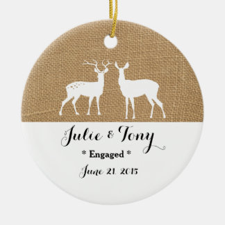 Engagement Gift Engagement Ornament -