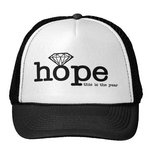 Engagement Hope - Diamond Ring Mesh Hats