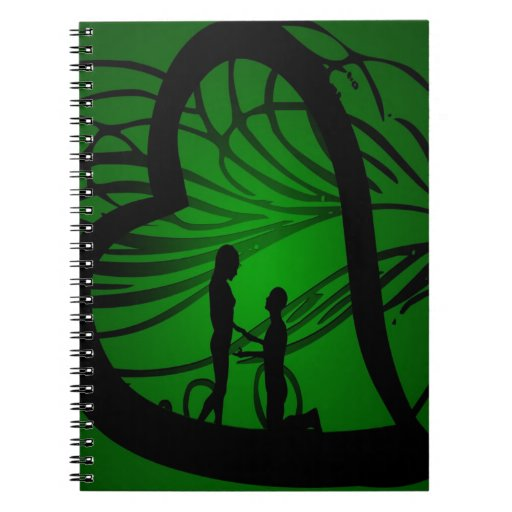 engagement love you forever spiral note book