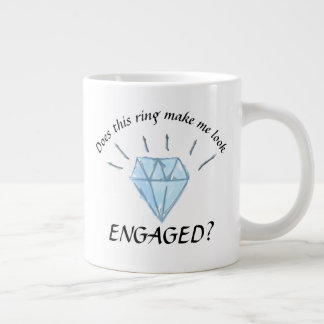 Engagement Mug - Diamond Graphic