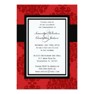 Engagement Party Elegant Vintage Wedding Invite