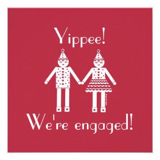Engagement Party Invitation © 2012 M. Martz