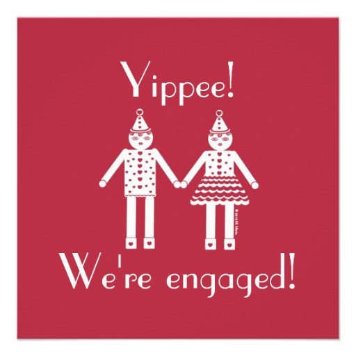 Engagement Party Invitation © 2012 M. Martz