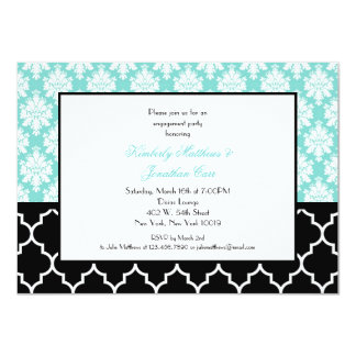"Engagement Party Invites 4.5"" X 6.25"" Invitation Card"