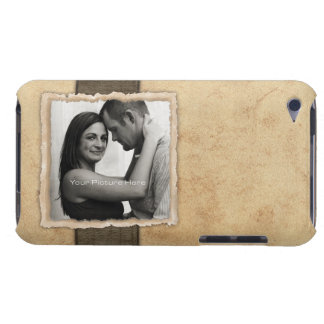 Engagement Photo Rustic Vintage Wedding iPod Touch Cover