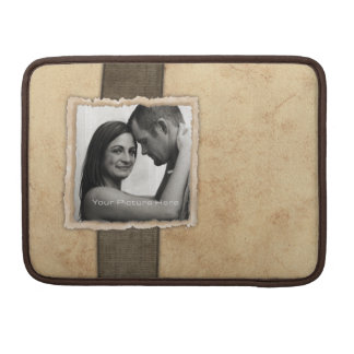Engagement Photo Rustic Vintage Wedding Sleeves For MacBooks