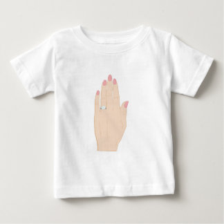 Engagement Ring Baby T-Shirt