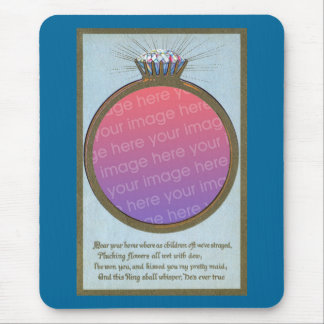 Engagement Ring Frame Mouse Pad