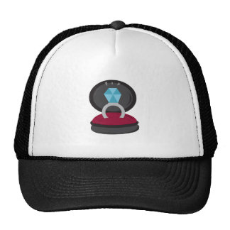 Engagement Ring Trucker Hats