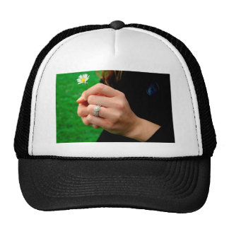 Engagement ring with Daisy Hats