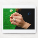 Engagement ring with Daisy Mouse Pads