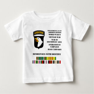 Engagements of the 101st airborne division baby T-Shirt