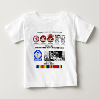 Engagements of  the 84th Airborne Division Baby T-Shirt