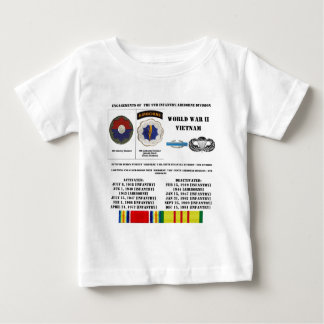 Engagements of the 9th Infantry/Airborne Division Baby T-Shirt
