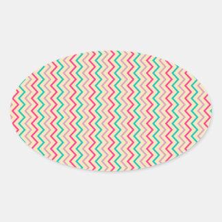Engaging Unwavering Intelligent Nice Oval Sticker