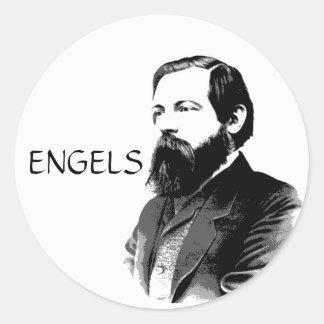 Engels Classic Round Sticker