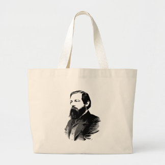 Engels Large Tote Bag