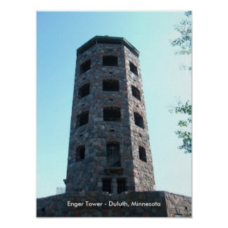 Enger Tower - Duluth, Minnesota Poster