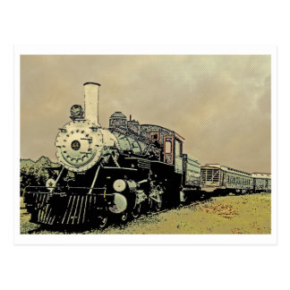 Engine 44 Winnsboro SC Postcard