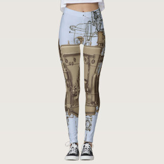 ENGINE MECHANICAL ROBOTIC WISCONSIN ENGINE Model X Leggings